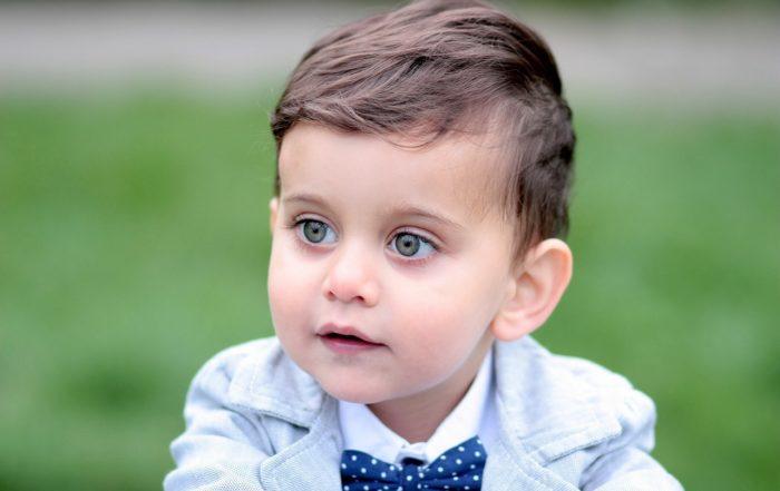 Elegancki strój dla chłopca