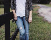 Modne jeansy