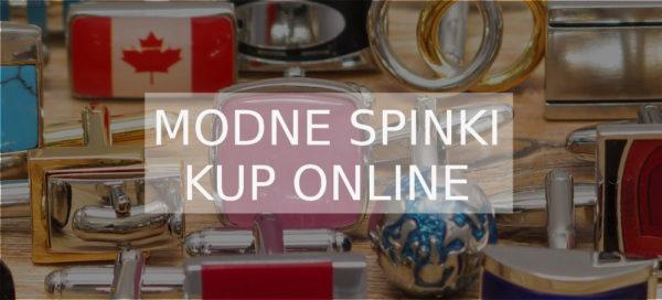 modne spinki kup online