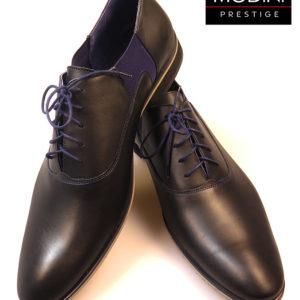 czarno granatowe buty