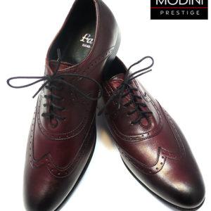 czarno-bordowe buty