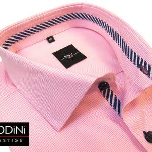 koszula w rozowa kratke